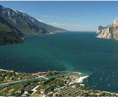 Panorama Garda Lake Monte Brione