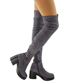 a12b3dcda0f05 16 Best OTK Boots images | Over the knee boots, High heel, Stiletto ...