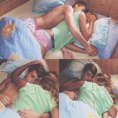 Top picture is sooo cute..they're holding hands while they sleep...to flaming cute ahhhh :-) <3