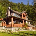 Luxury Home  located in British Columbia - Houses - Exterior - Timber Frame HQ - http://timberframehq.com/timberframephotos/houses-exterior/?utm_content=buffer541de&utm_medium=social&utm_source=pinterest.com&utm_campaign=buffer