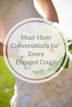 Every single engaged couple needs to have this one conversation before you start planning the perfect day. It will save you so much hassle to get on the same page immediately!