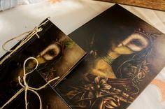 """Pack """"Reina Búho"""" de Arte, Grabado e Ilustración por DaWanda.com"""