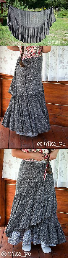 Trendy Sewing Skirts Maxi Diy Ideas - Trendy Sewing Skirts Maxi Diy Ideas Best Picture For cheap DIY decorating For Your Taste You - Diy Fashion, Ideias Fashion, Fashion Dresses, Punk Fashion, Skirt Patterns Sewing, Clothing Patterns, Skirt Sewing, Diy Clothing, Sewing Clothes