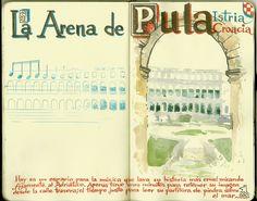 de vuelta con el cuaderno: Cuaderno Muaré (14. + Croacia) Arena de Pula