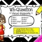 Do your students have difficulty answering wh-questions?  Are they unsure of the type of question they are being asked? Then help them crack the ...