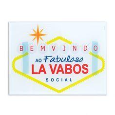 Placa de Lavabo Las Vabos