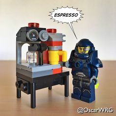 #LEGO_Galaxy_Patrol #LEGO #Espresso #☕️ #CoffeeMachine #CoffeeMaker #EspressoMachine
