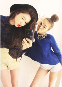 Jung Min Hee and Park Sora