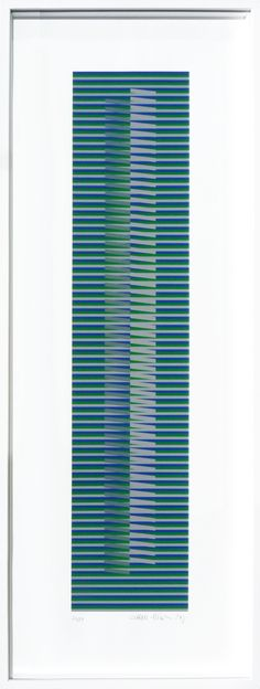 Carlos Cruz-Diez, Induction chromatique à double fréquence-Balladores 1  More Pins Like This At FOSTERGINGER @ Pinterest