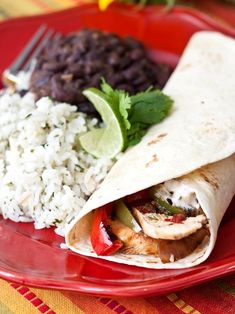 Chipotle-Lime Chicken  Fajitas------The sauce that you top the chicken with right before serving is killer.