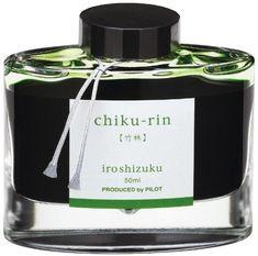 Pilot Iroshizuku Bottled Fountain Pen Ink, Chiku-rin, Bamboo Forest, Light Green (69222) Pilot http://www.amazon.com/dp/B006T4DQ70/ref=cm_sw_r_pi_dp_oPp8tb1P8X7RG