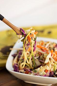 Eating Clean: Thai Inspired Raw Zucchini Salad
