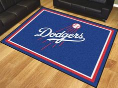 MLB - Los Angeles Dodgers 8'x10' Rug