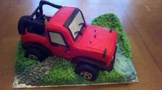 """Jeep Cake """"off roading!"""""""