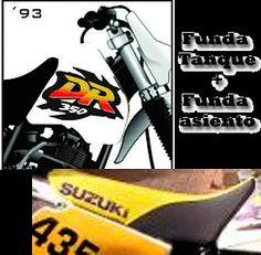 KIT COVER SUZUKI DR 350 SEAT & TANK!!!!, FREE SHIPPING WORLWIDE!!!!