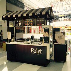 Carritos de helados Polet para mejorar la experiencia del consumidor con la marca. Un complemento a la distribución del producto en canales tradicionales.