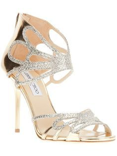 http://www.jimmychoo.com, JIMMY CHOO 'Melody' Sandal, bride, bridal, wedding, wedding shoes, bridal shoes, haute couture, luxury shoes