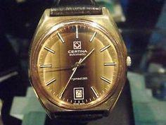 CERTINA Vintage ARGONAUT, MOD. 285, AUTOMATIK HERRENUHR REVIDIERT-70er - RARITÄT
