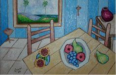 Comedor de Van Gogh, arlos A Erazo, Puerto Rico