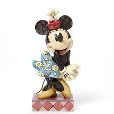 Figurine Minnie Mouse - Rétro - Disney Traditions Jim Shore