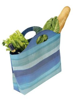 Blue Recycled Shopper