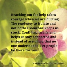 Getting support in recovery makes the difference between surviving and thriving.