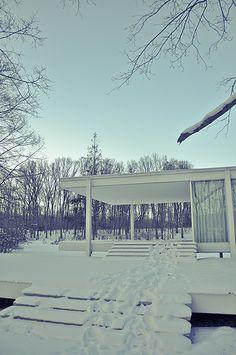 Farnsworth House by Mies van der Rohe
