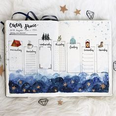 The best Bullet Journal Supplies and Stationary on a budget. Creative bullet journal hacks and tips for your bullet journal layout! Bullet Journal Novembre, Bullet Journal 2019, Bullet Journal Themes, Bullet Journal Inspo, Bullet Journal Spread, Bullet Journal Layout, Bujo, Fun Christmas, Theme Galaxy