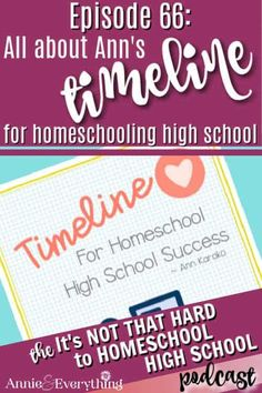 Hear Ann explain all the details of her timeline for homeschooling high school which guides you through the high school years. Homeschool High School, Homeschooling, High School Courses, High School Years, Teaching Math, Timeline, Curriculum, The Cure, Ann