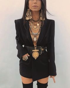 Look Fashion, Autumn Fashion, Girl Fashion, Womens Fashion, Hippie Chic, Hippie Style, Boho Chic, Edgy Outfits, Fashion Outfits