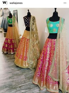 Are you a sister of a bride-to-be? Wondering what outfit styles will work for you best? Then these 11 sisters bride outfit styles will give you all the idea Indian Attire, Indian Wear, Indian Outfits, Pakistani Dresses, Indian Sarees, Lehenga Designs, Desi Clothes, Indian Couture, Half Saree