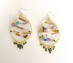 Coralee  Dramatic Design Hoops 