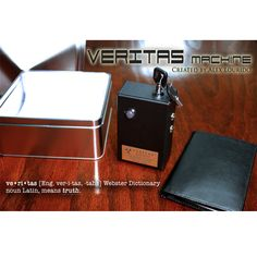 Veritas Machine by Alex Lourido (Limited Edition) - This is your one and only chance to own one of Alex Lourido's Veritas Machines! In a very limited, one-time run only 50 units were manufactured and only very few are left. VERITAS is a portable polygraph machine that fits into your hand! get it here: http://www.wizardhq.com/servlet/the-15167/veritas-machine-by-alex-lourido-limited-edition/Detail?source=pintrest