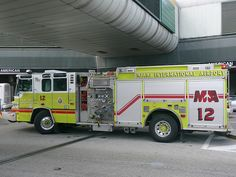 Miami International Airport Fire Engine #Setcom