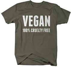 Vegan life is such a commitment. You commit to not using or consuming any animal products. Be proud, and let the world know that you are 100% cruelty free in this t-shirt for vegans. Our cotton shirts                                                                                                                                                                                 More