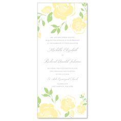 Ravishing Roses Wedding Invitation | #exclusivelyweddings