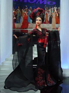 OOAK Barbie NiniMomo's Miss Okinawa 2011