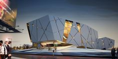 University of Semnan Auditorium and Library / New Wave Architecture ~ DesignDaily Network