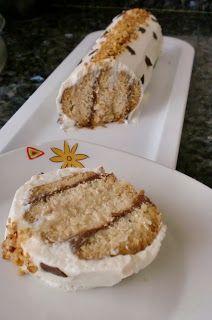 """MAYTE EN LA COCINA: 301° receta: BRAZO DE GITANO FABIOLA, """"reto alfabeto dulce"""""""