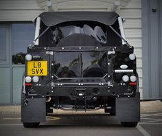 Classic LAND ROVER DEFENDER 90 SVX SOFT TOP CUSTOM TREA... for sale - Classic…