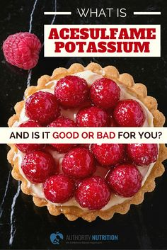 acesulfame potassium bad for you