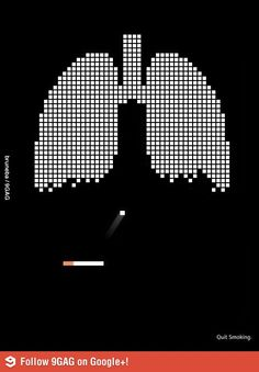 Very clever anti-smoking ad. | Repinned by www.BlickeDeeler.de