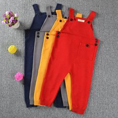 Girl Automn Overall