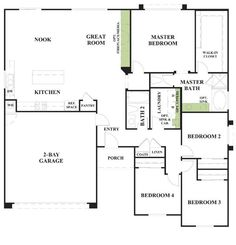 Woodside Homes Floor Plans the emerson- front exterior | models & floorplans | pinterest