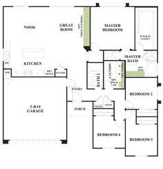 Woodside Homes Floor Plans the emerson- front exterior | models & floorplans | pinterest