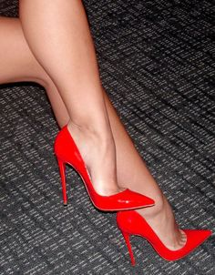 "Red ""There's No Place Like Home"" Heels"