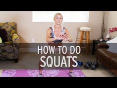 How to Do a Squat Correctly...take that 30 Day Squat Challenge!