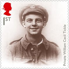 Марка: Private William Cecil Tickle (Великобритания) (Centenary of the First World War issue)) Mi:GB