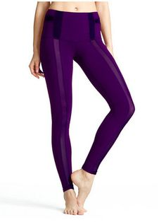 The Golda Tight: Full-length performance tights with striking front mesh panels, and simple yet effective lines. Yoga has never looked so sexy until the Golda.
