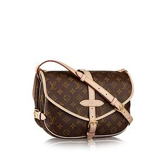 Saumur MM Monogram Canvas in Women's Handbags collections by Louis Vuitton